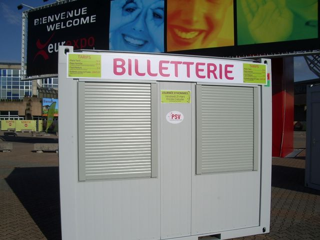 Bungalow billeterie
