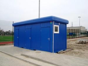 Bungalow sanitaire wc
