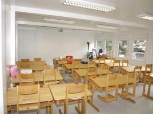 Ecole dans bungalow