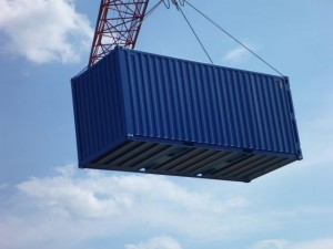 Elinguage d'un container