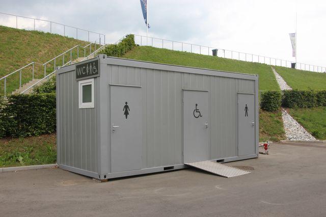 Sanitaire bungalow 20' avec PMR